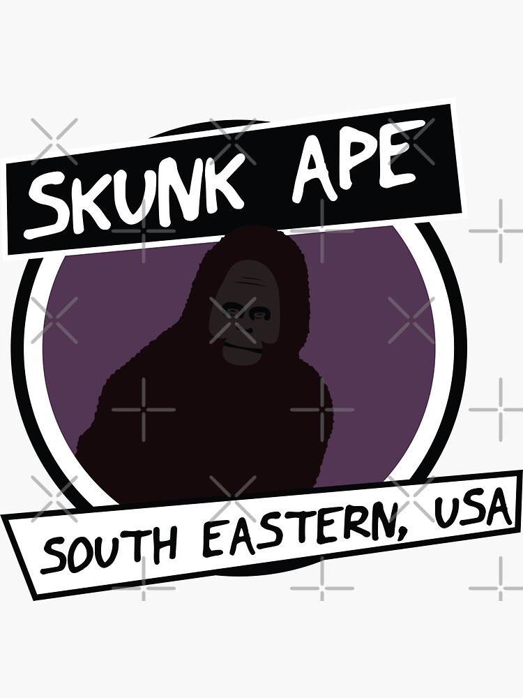 Skunk Ape • Cryptid Collection by brainthought