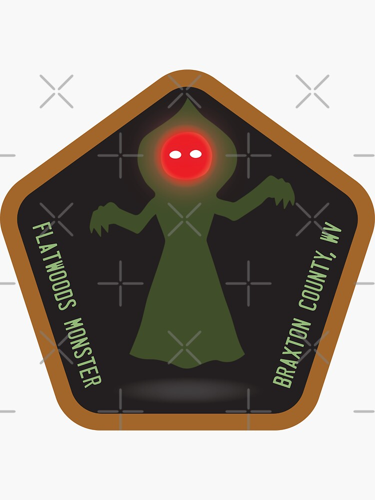 The Flatwoods Monster • Cryptid Collection by brainthought
