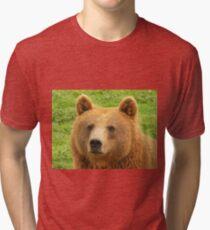 Ursus Arctos / Brown Bear Tri-blend T-Shirt