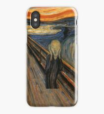 Edward munch - The Scream iPhone Case