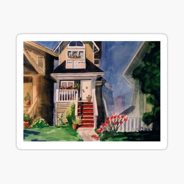 Skinny House Sticker