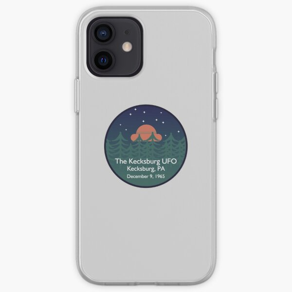 The Kecksburg UFO • Paranormal Collection iPhone Soft Case