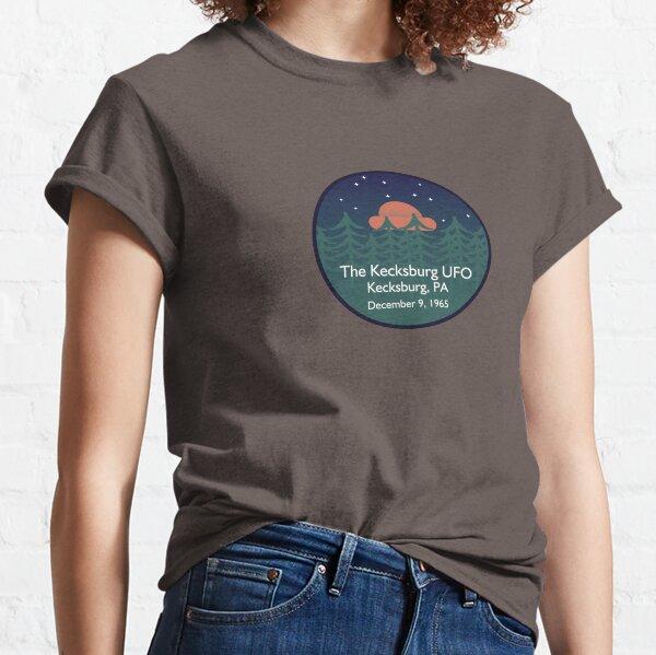 The Kecksburg UFO • Paranormal Collection Classic T-Shirt