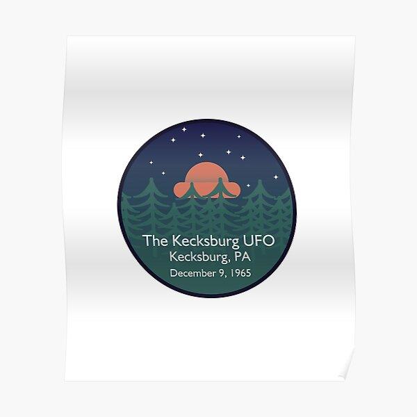 The Kecksburg UFO • Paranormal Collection Poster
