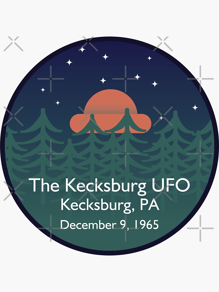The Kecksburg UFO • Paranormal Collection by brainthought
