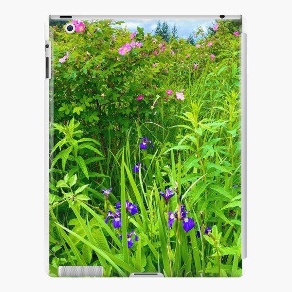 Alaskan Wild Iris and Sitka Roses iPad Snap Case