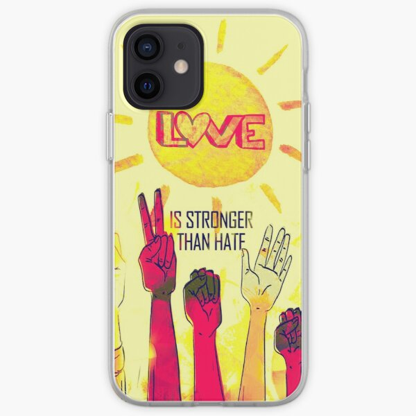 Love is Stronger iPhone Soft Case