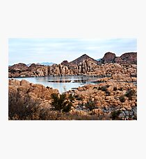 Winter Granite Dells Prescott Arizona Photographic Print