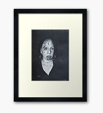 Bloody Woman Framed Print