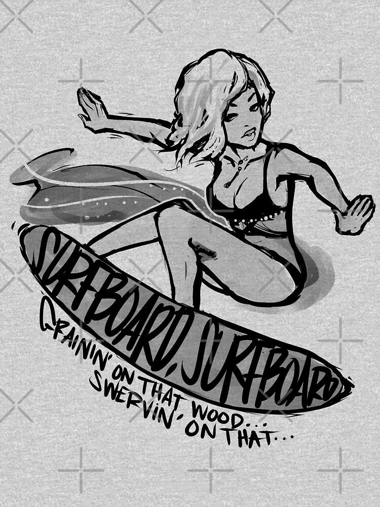 SURFBOARD. | Unisex T-Shirt