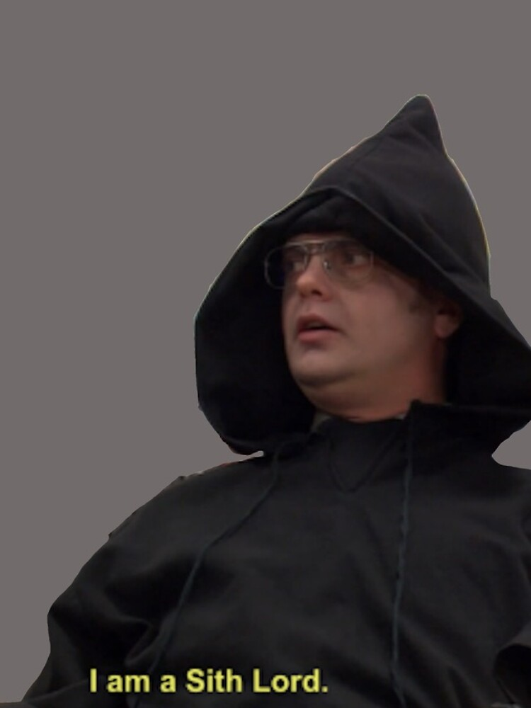 I am a Sith Lord--Dwight Schrute by dundermifflin96
