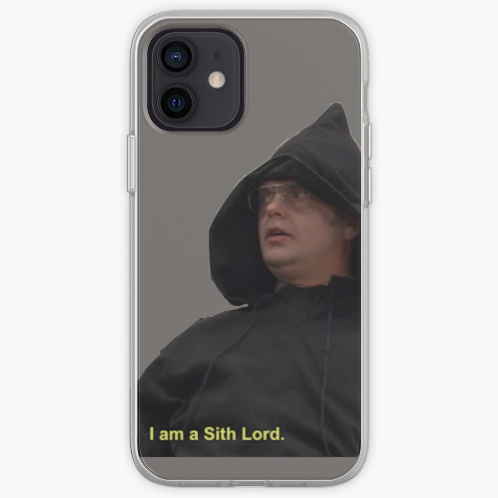 I am a Sith Lord--Dwight Schrute iPhone Case & Cover