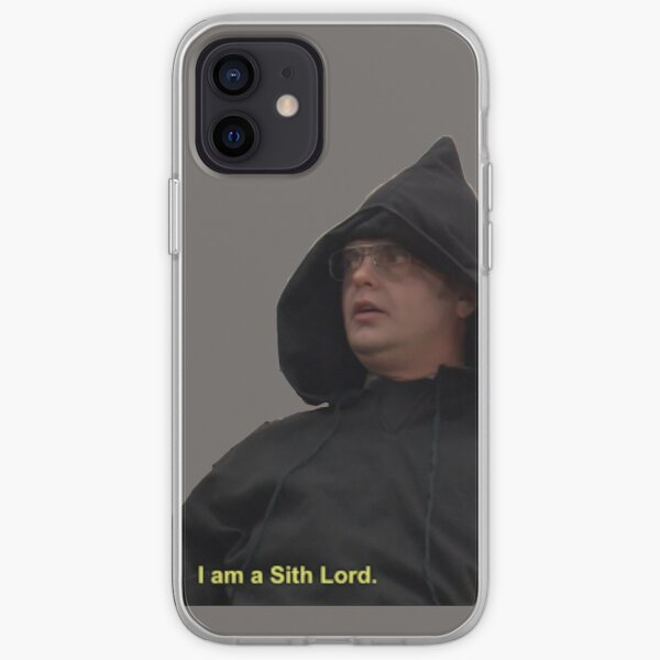 Soy un Lord Sith - Dwight Schrute Funda blanda para iPhone