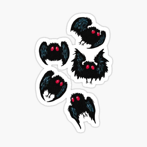 Mothman Scatter Sticker