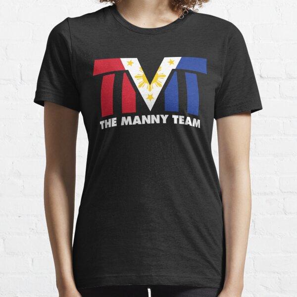 The Manny Team Filipino Flag TMT por AiReal Apparel Camiseta esencial