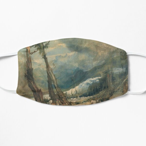 "Joseph Mallord William Turner ""Mer de Glace, in the Valley of Chamouni"" Mask"