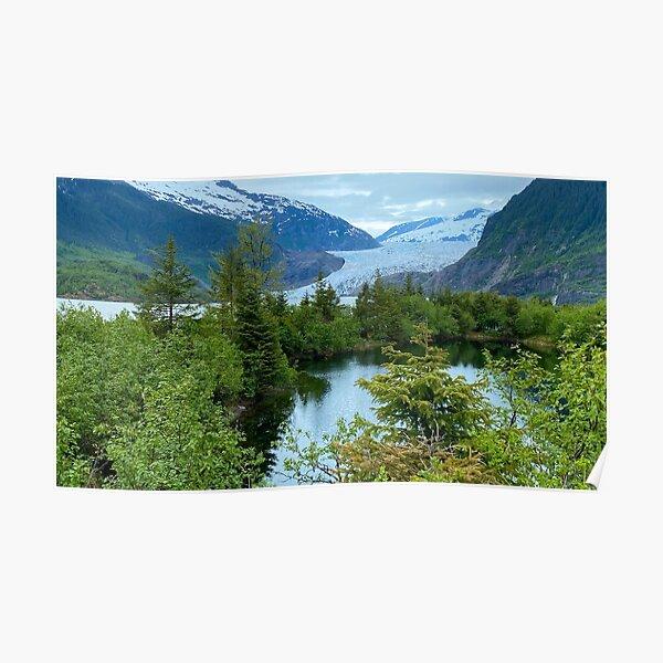 Mendenhall Glacier, Juneau, AK Poster