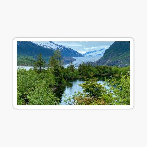 Mendenhall Glacier, Juneau, AK Sticker