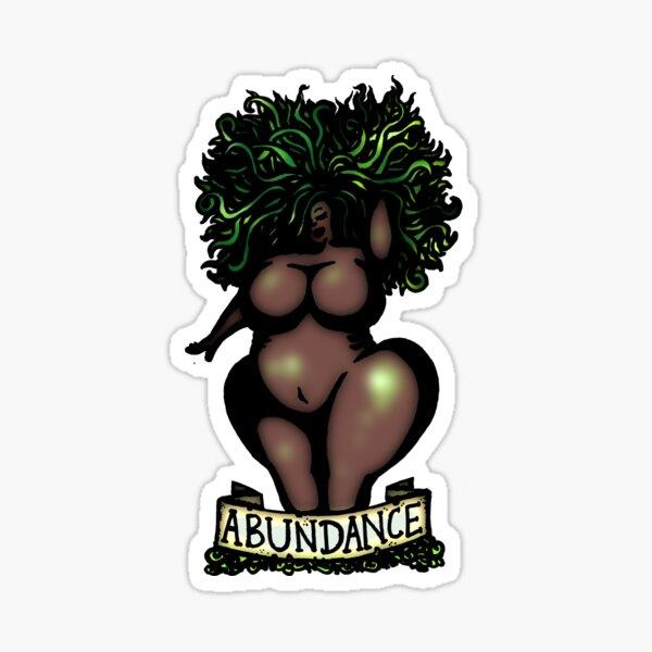 BBW - 'Abundance' Sticker