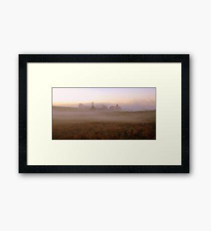 Cumbrian Mist Framed Print