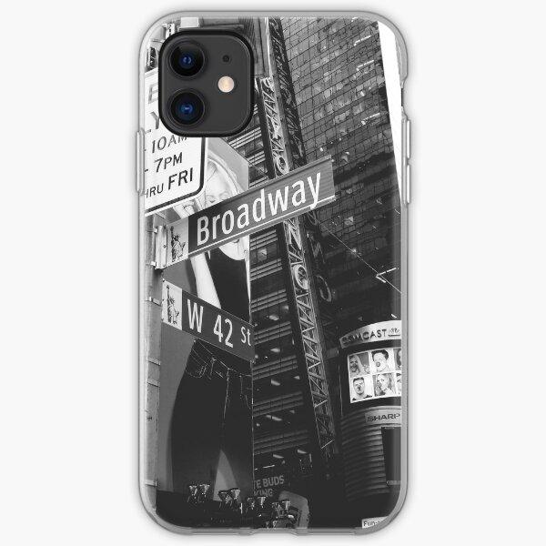Broadway Funda blanda para iPhone