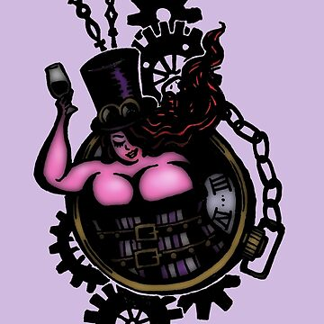 BBW - Buxom Steampunk Tart (colour version) by twistytwist