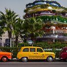 Colourful taxies. by naranzaria