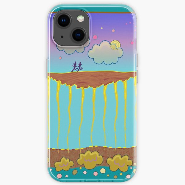 Land in the Sky iPhone Soft Case