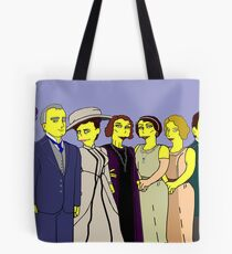 Downton Abbey - Cast of Nine Tote Bag