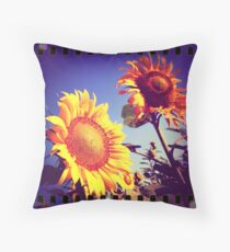 Girasoli in Toscana Throw Pillow
