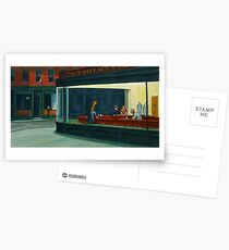 Art Giraffe- Nighthawks Postcards