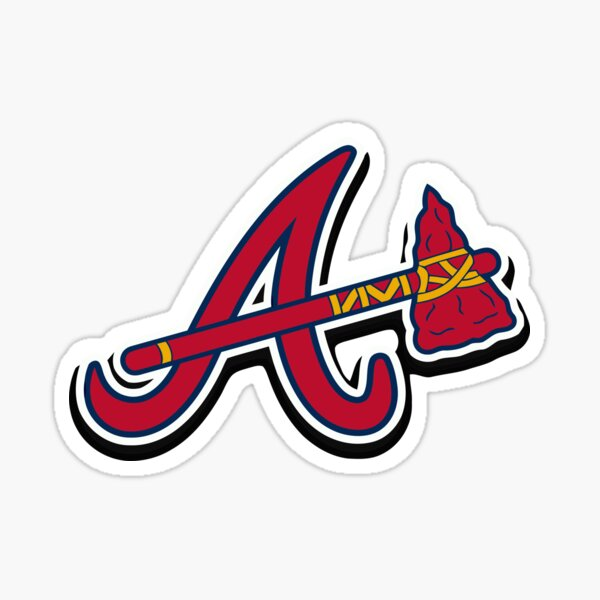 braves-atlanta Sticker