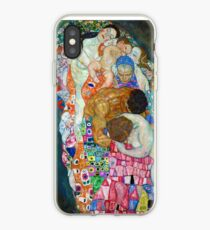 Gustav Klimt - Tod und Leben iPhone-Hülle & Cover