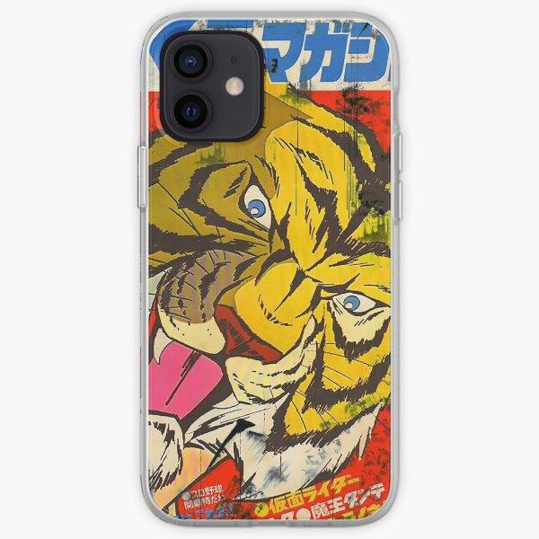 Tiger mask iPhone Soft Case