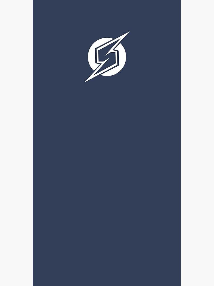 Metroid Symbol - Super Smash Bros. (white) by hopperograss