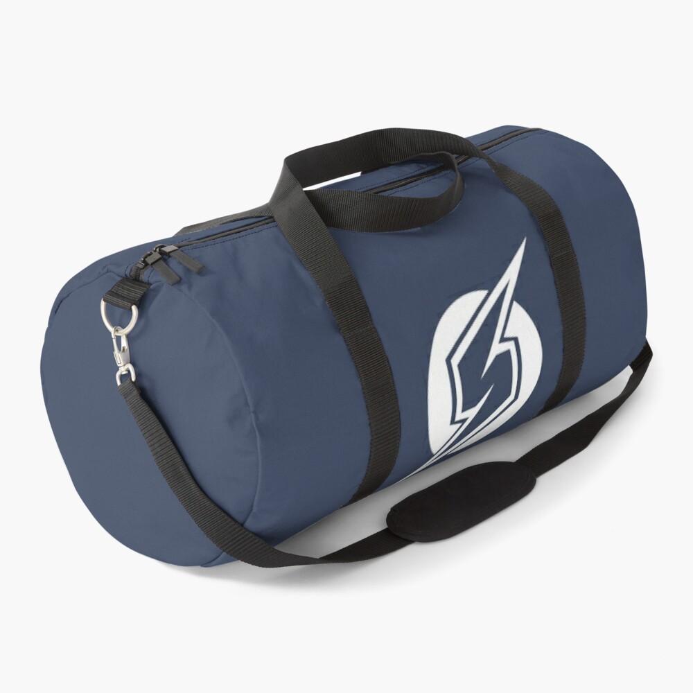 Metroid Symbol - Super Smash Bros. (white) Duffle Bag