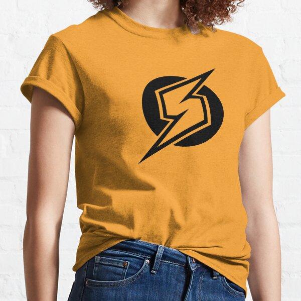 Metroid Symbol - Super Smash Bros. (black) Classic T-Shirt
