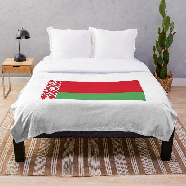 Belarus flag  Throw Blanket