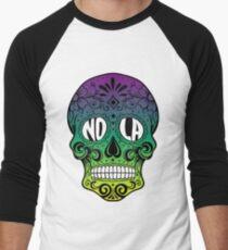 NOLA Skull Men's Baseball ¾ T-Shirt