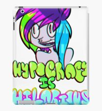 Hypocricy is Hilarious iPad Case/Skin