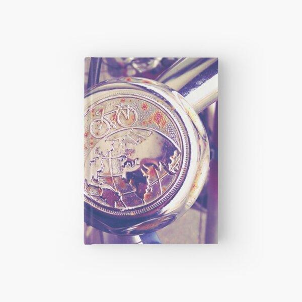 Inspiring Bicycle Bell Hardcover Journal