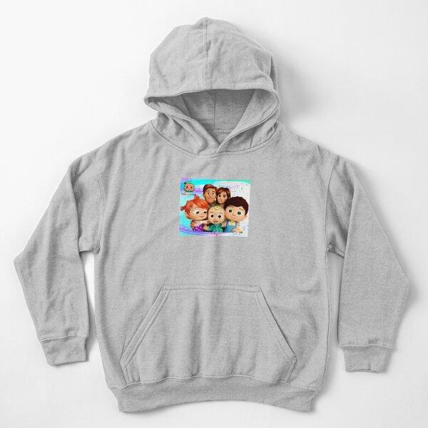 Cocomelon Sudadera con capucha para niños