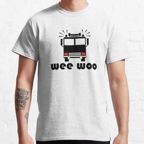 Wee Woo Firetruck Classic T-Shirt
