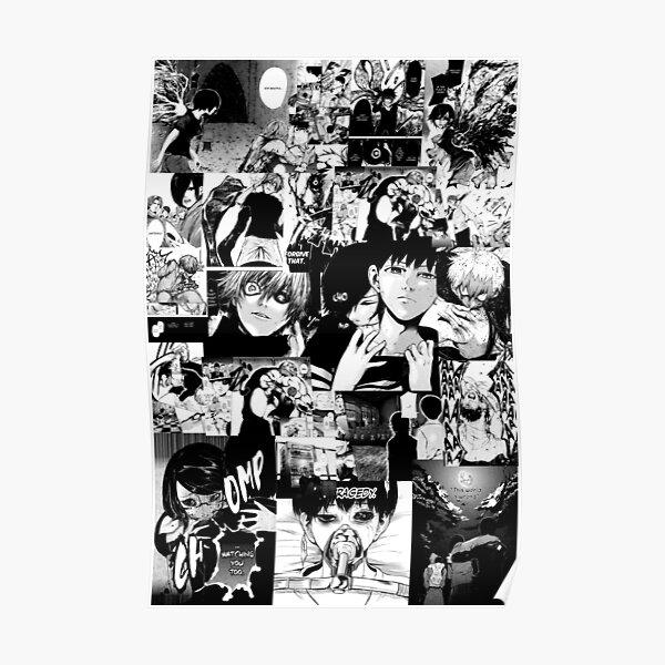 Collage de Manga de Tokyo Ghoul Póster