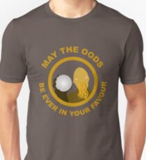 May the Oods Be Ever in Your Favour Unisex T-Shirt