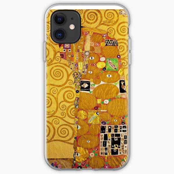 Gustav Klimt - Fulfilment iPhone Soft Case