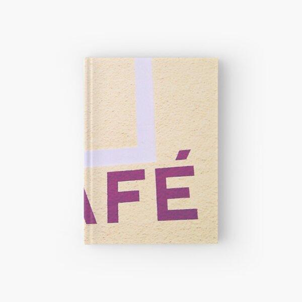 Café Hardcover Journal
