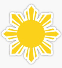 Philippine Sun by AiReal Apparel Sticker