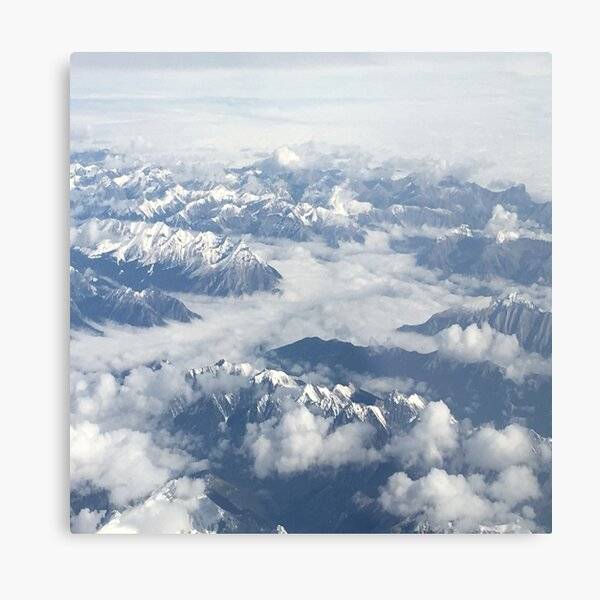 view from above  sky Metal Print