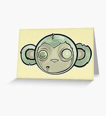 That Zombie Monkey Tho Greeting Card